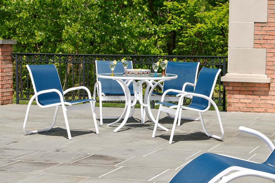 Telescope Casual Gardenella Sling Dining Set Seasonal