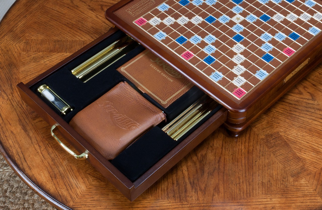 Luxury Edition Scrabble Board Game Seasonal Specialty