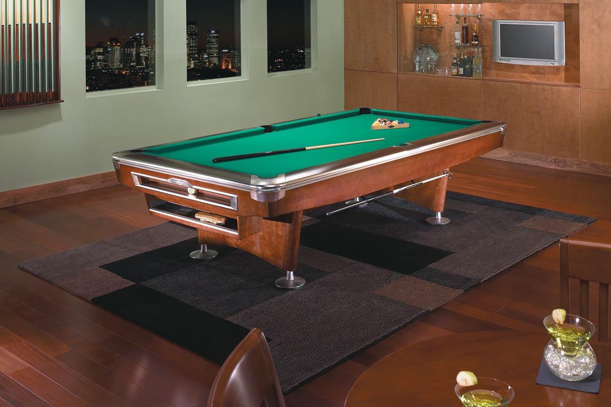 Brunswick Gold Crown V Pool Table Seasonal Specialty