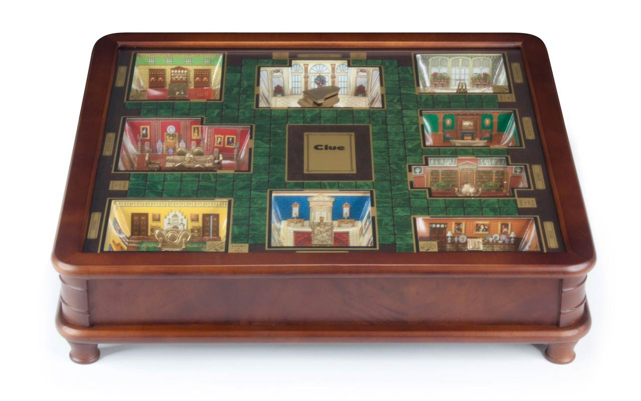 Luxury Edition Clue Board Game Seasonal Specialty Stores