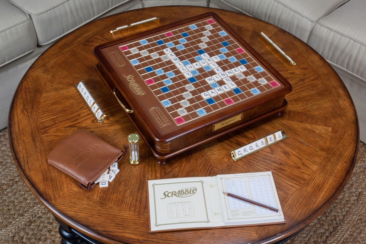 Luxury Edition Scrabble Board Game